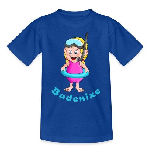 Badenixe - Schwimmerin - Teenager T-Shirt
