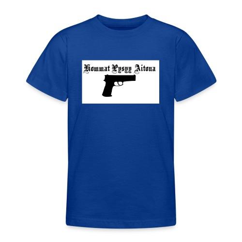 hommat pysyy aitona paita - Nuorten t-paita