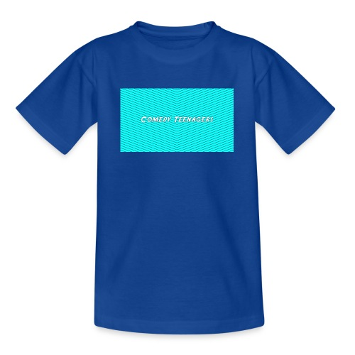 Light Blue Comedy Teenagers T Shirt - T-shirt tonåring