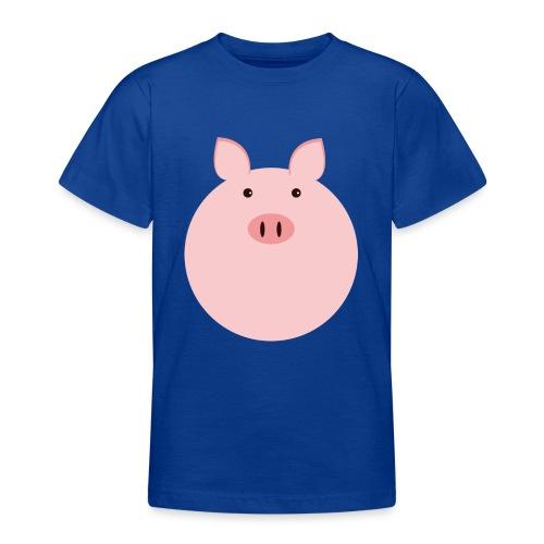 Schweinchen Fred - Teenager T-Shirt