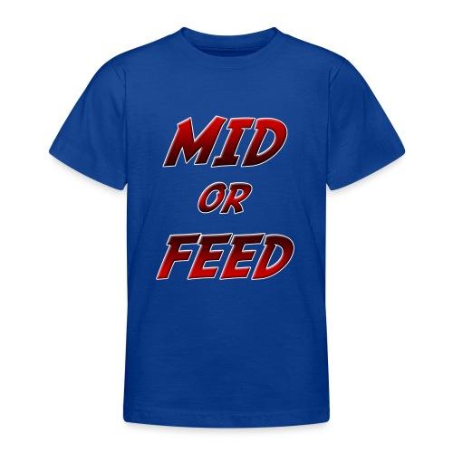 Mid or feed DONNA - Maglietta per ragazzi