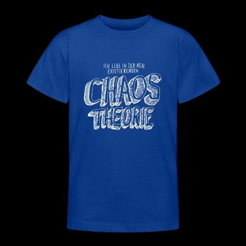 Chaostheorie (weiss) - Teenager T-Shirt