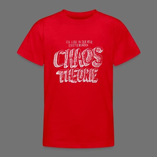 Chaos Theory (valkoinen) - Nuorten t-paita