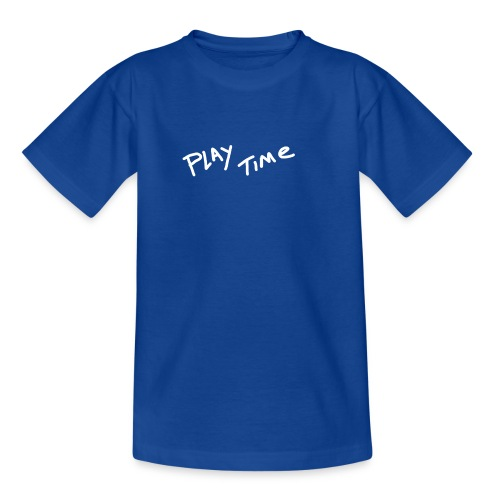 Play Time Tshirt - Teenage T-Shirt