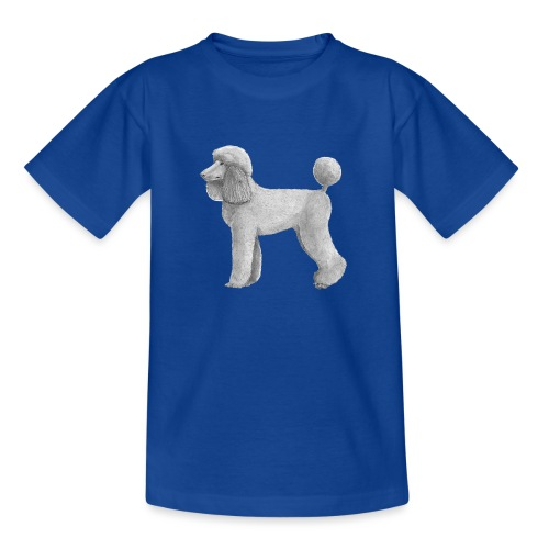 poodle standard abricot ink - Teenager-T-shirt