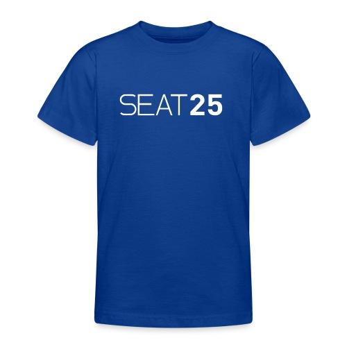 Seat25 Logo Light - Teenage T-Shirt