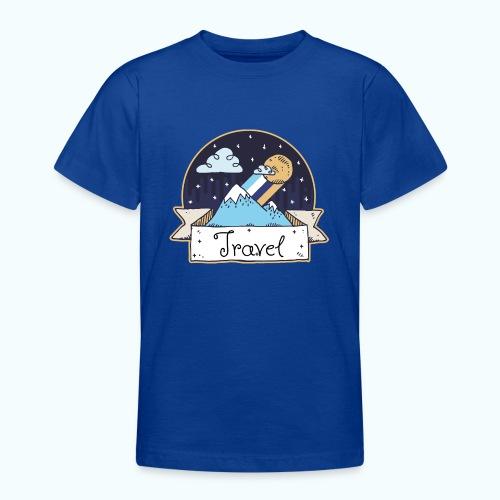 Travel - Teenage T-Shirt