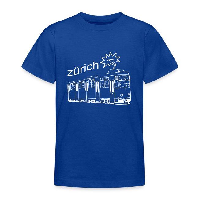 Tram in der Stadt Zürich Schweiz Geschenkidee Züri