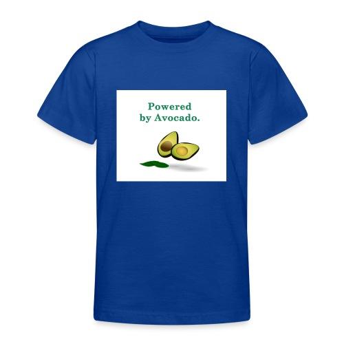 T-shirt ; Powered by avocado - T-shirt Ado