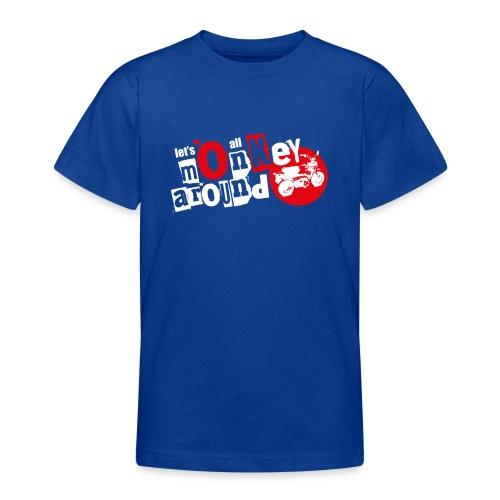 Monkey Around T-Shirt - Teenage T-Shirt