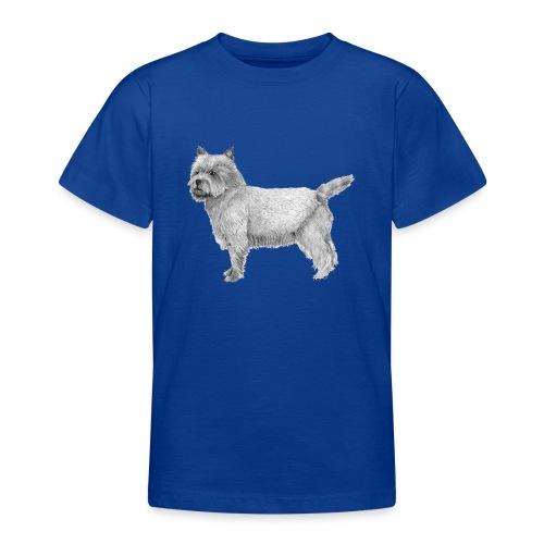cairn terrier - Teenager-T-shirt