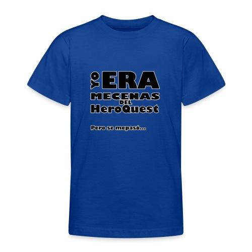 Camiseta manga larga Yo era mecenas del HQ Gris - Camiseta adolescente