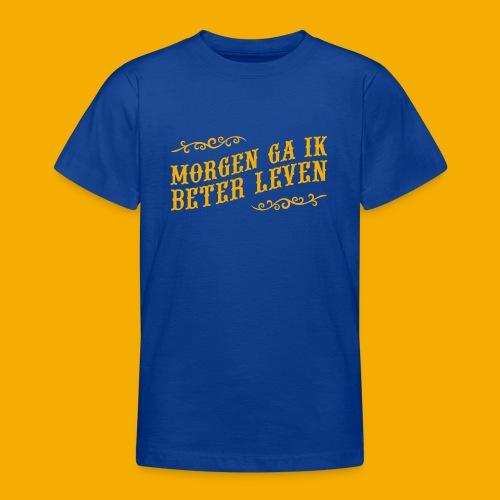 tshirt yllw 01 - Teenager T-shirt
