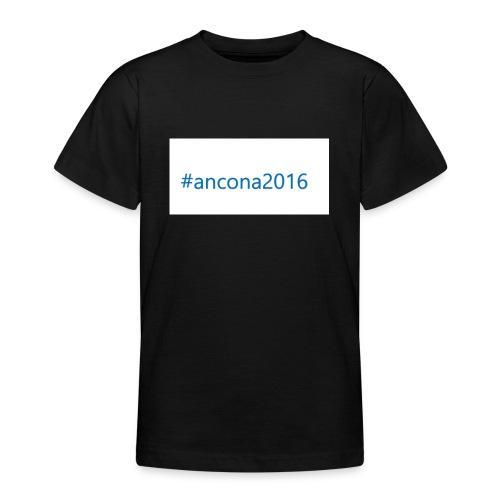 #ancona2016 - Camiseta adolescente