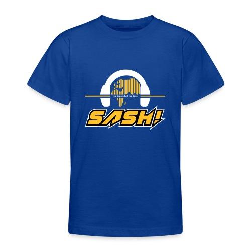 SASH! Logo 2020 Headfone - Teenage T-Shirt
