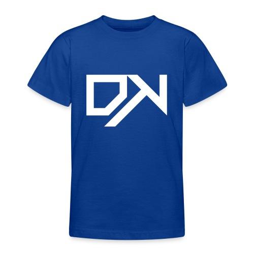 DewKee Logo Cap White - Teenage T-Shirt