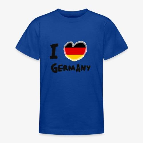 I Love Germany!!! - Teenager T-Shirt