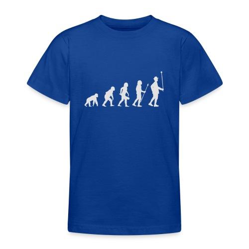 Evolution Stabführer weiß - Teenager T-Shirt