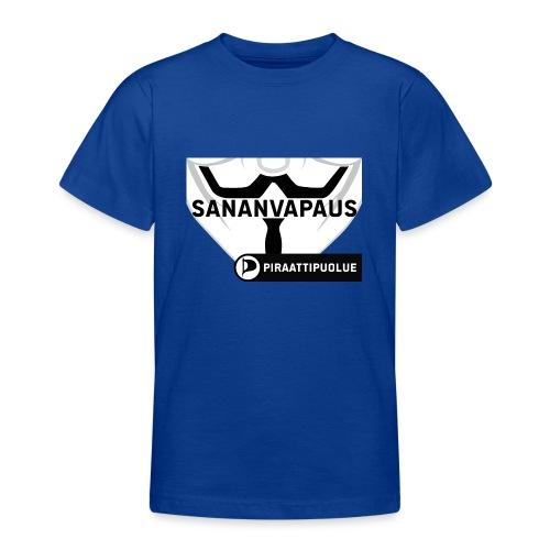 Sananvapaus - Nuorten t-paita