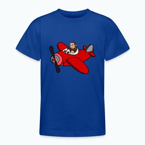 Monkey Moe - Appelsin - T-shirt tonåring