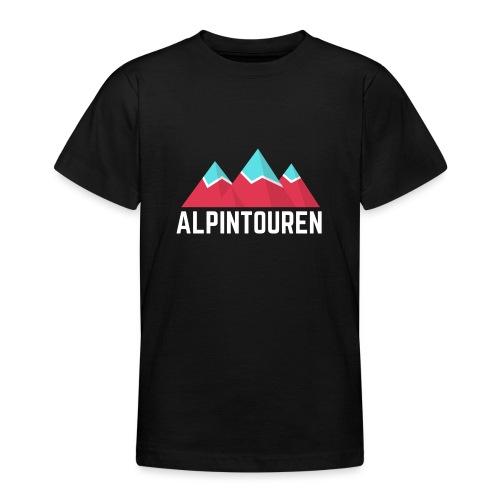 Alpintouren Logo - Teenager T-Shirt