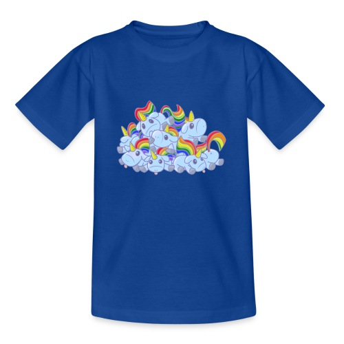 Moar unicorns! - Maglietta per ragazzi