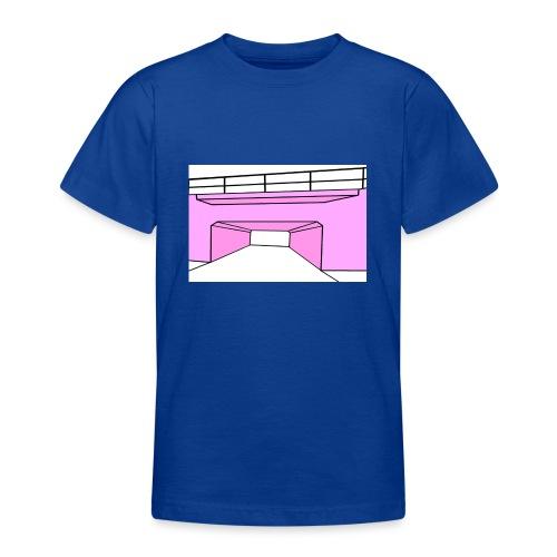 Pink Tunnel - T-shirt tonåring