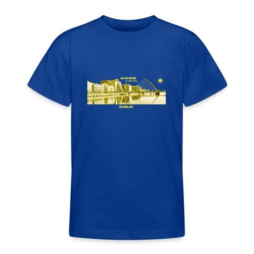 Summer Dublin City Irland Ireland Sommer Sonne - Teenager T-Shirt