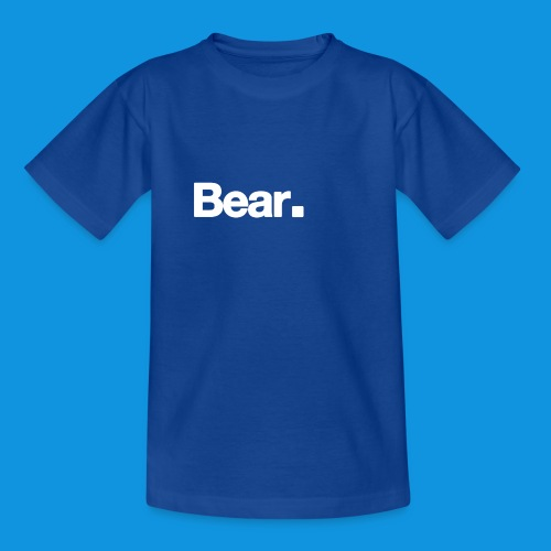 Bear. Retro Bag - Teenage T-Shirt