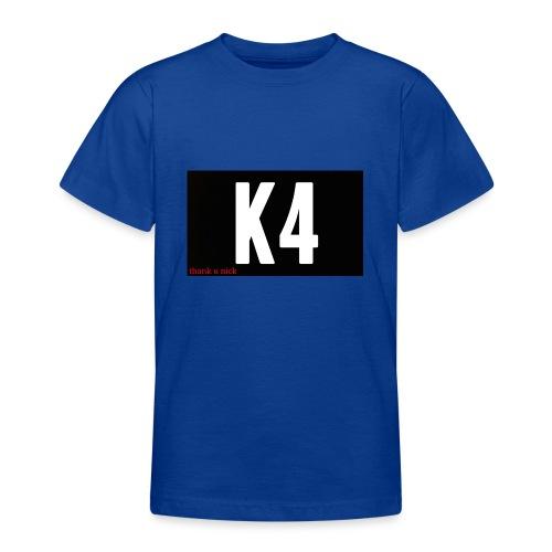 K4 KRISP 4EVER MERCHANDISE - Teenage T-Shirt