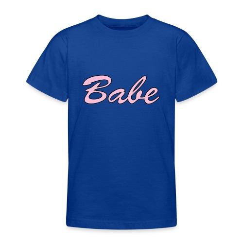 Babe - T-shirt tonåring