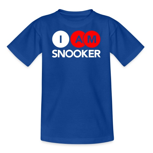 I AM SNOOKER - Teenage T-Shirt