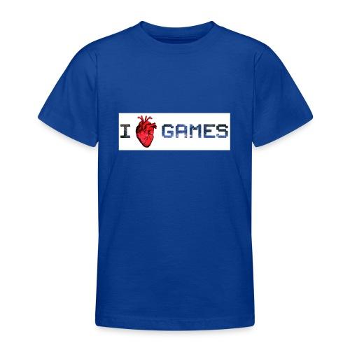 i_love_games-jpg - Maglietta per ragazzi