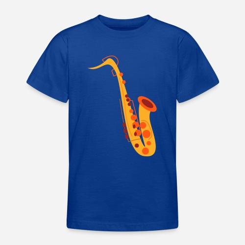 Goldenes Saxophon - Teenager T-Shirt
