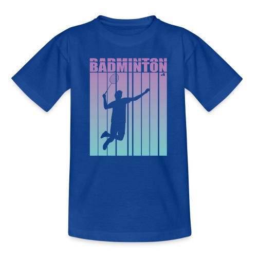 Badminton Jump Smash - Teenage T-Shirt