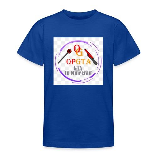 opgta logo - Nuorten t-paita