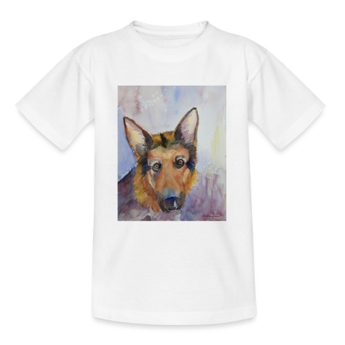 german shepherd wc - Teenager-T-shirt