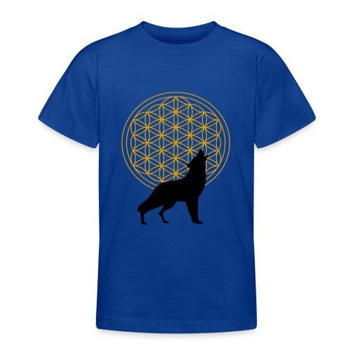 fleur de vie loup n°2 - T-shirt Ado