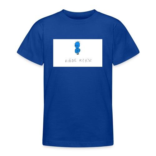 Blöde Kekse blau - Teenager T-Shirt