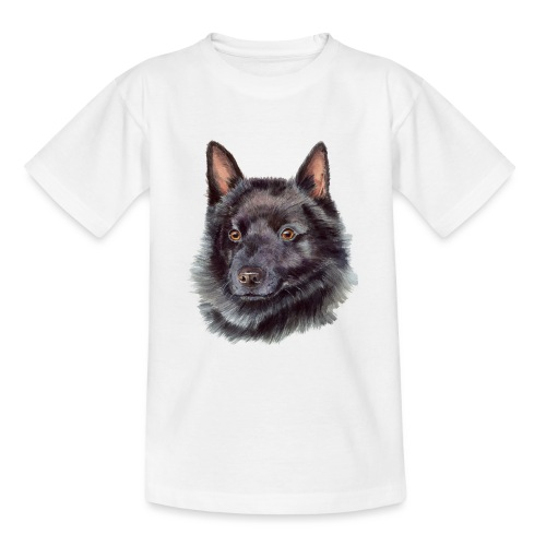 schipperke - M - Teenager-T-shirt