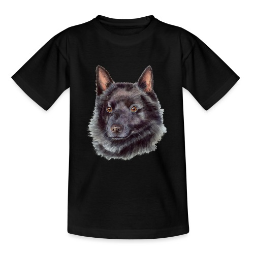 schipperke - M - Teenager-T-shirt
