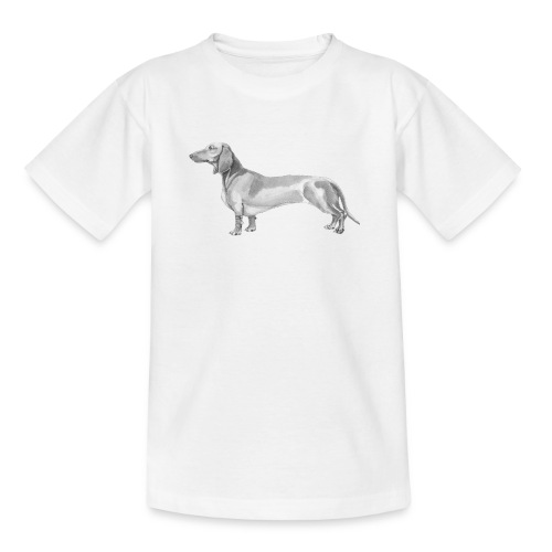 Dachshund smooth haired - Teenager-T-shirt
