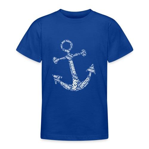 Hoffnung International Anker Symbol - Teenager T-Shirt