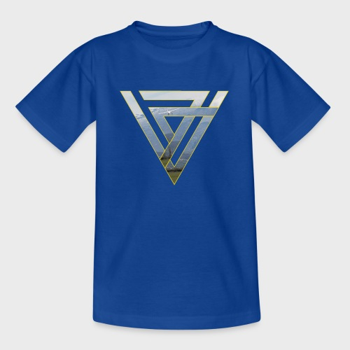 Triangle Plane - Teenager T-Shirt