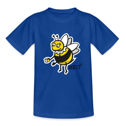 Teeny Tiny East End Bee - Teenage T-Shirt