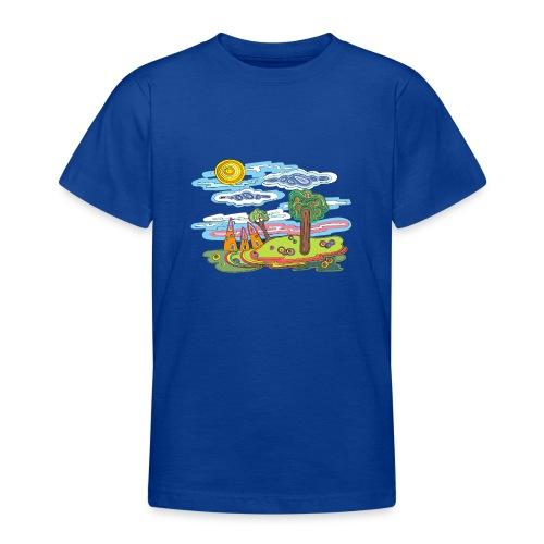 Paysage fantastique - T-shirt Ado