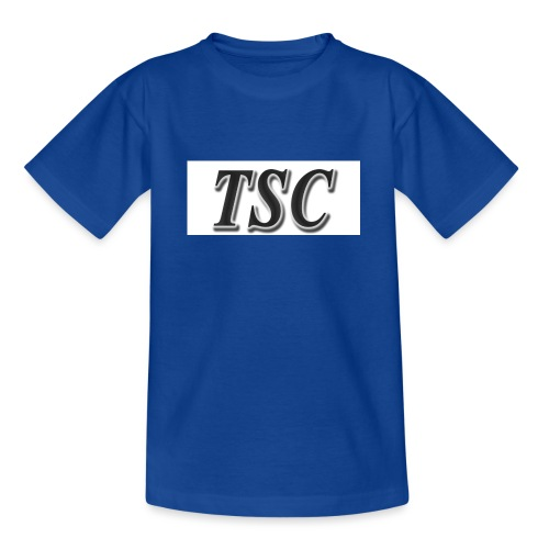 TSC Black Text - Teenage T-Shirt