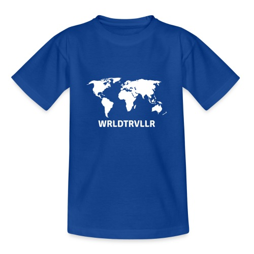 Worldtraveller - Teenager T-Shirt