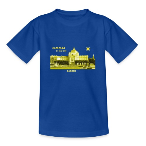 Sommer Zagreb Kroatien Istrien Nationaltheater - Teenager T-Shirt