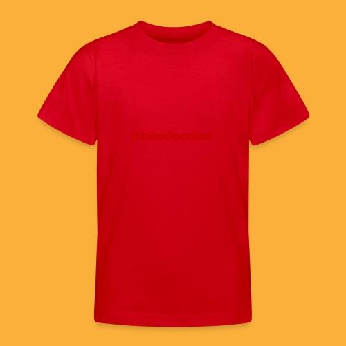 DJATODOCOLOR LOGO ROJO - Camiseta adolescente